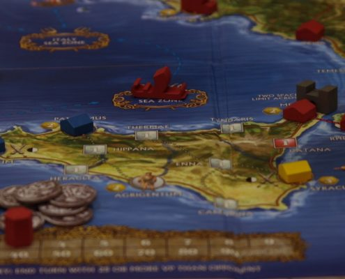 B-Con 2016 Hands in the Sea boardgame