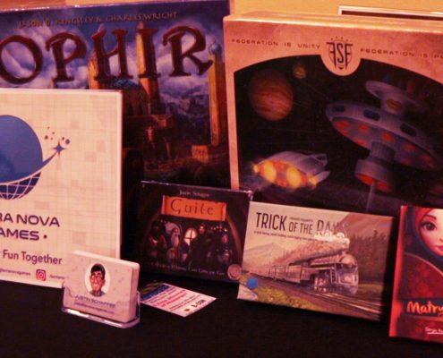 B-Con 2016 Terra Nova boardgames