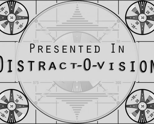 Distractovision Presents Logo